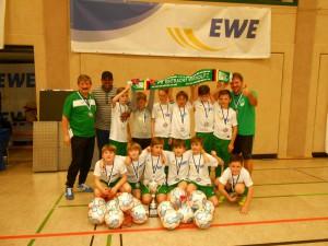 2. Platz EWE Winter-Cup 11.01.2015 Stadthalle Erkner