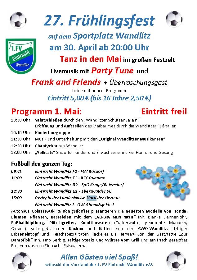 Einladung Maifest