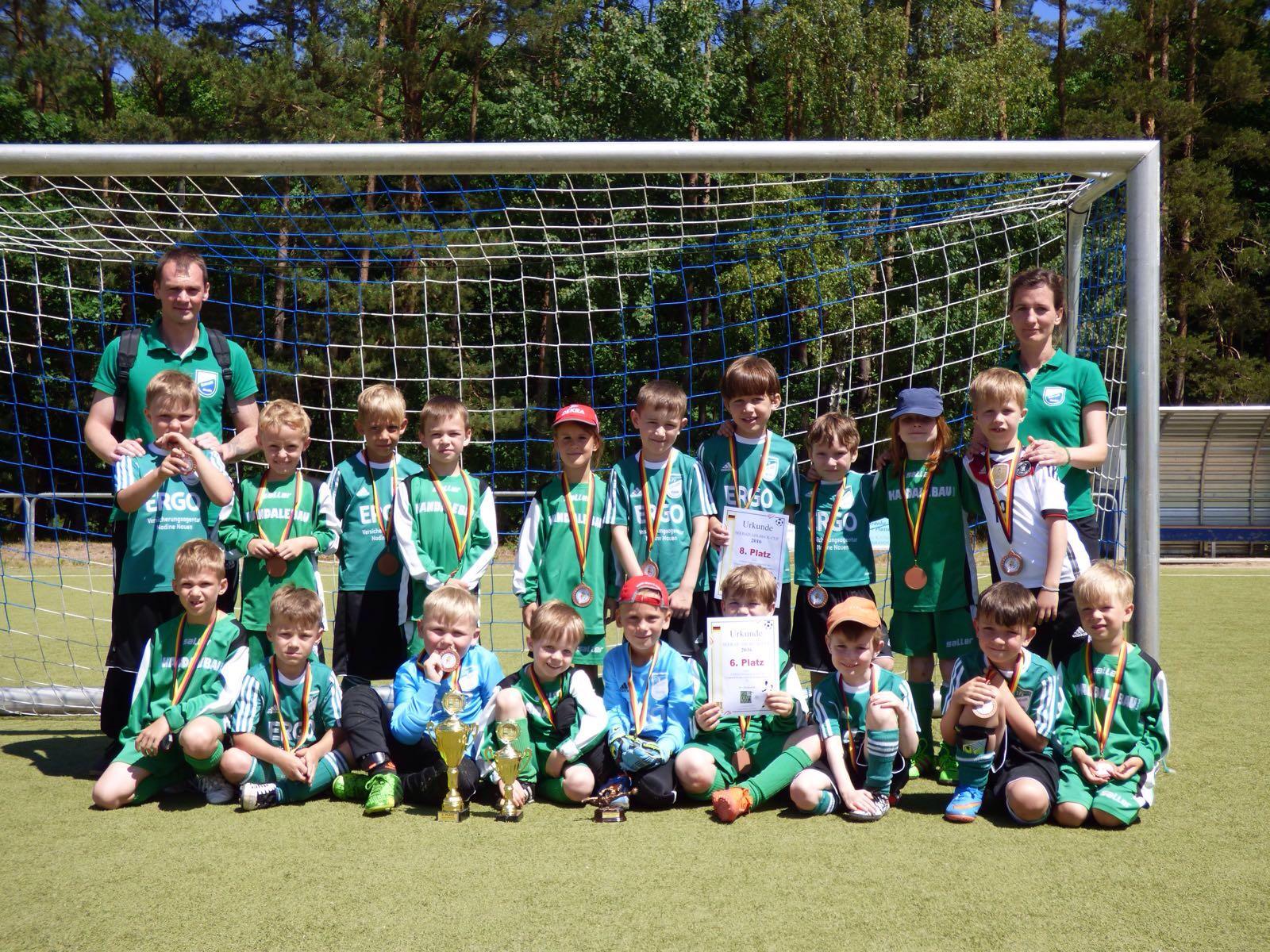 G-Junioren 2015-16 Ahlbeck-Cup1