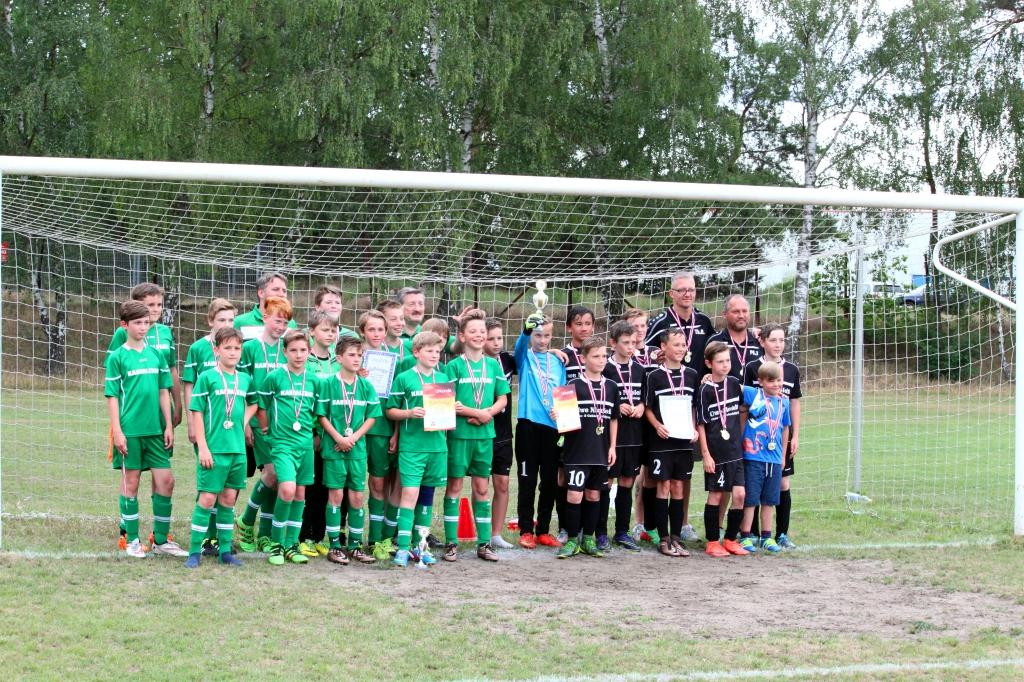 Pokalfinale D-Junioren 16.06.2016 Wandlitz-Werneuchen