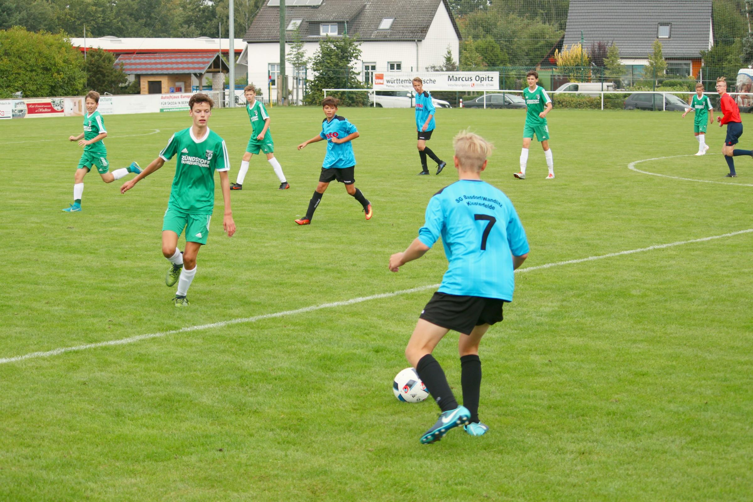 20180902 Punktspiel C1-Junioren Landesklasso Ost gegen Grün-Weiß Brieselang 6-0 Erfolg (27)