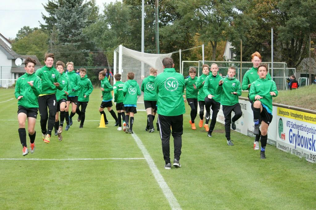 20181003 C1-Junioren Landespokal gegen Brieselang 5-0 Erfolg (1)