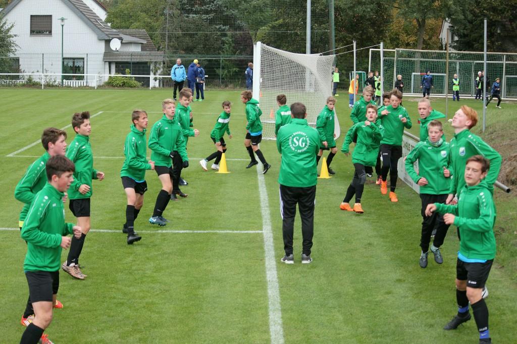20181003 C1-Junioren Landespokal gegen Brieselang 5-0 Erfolg (5)