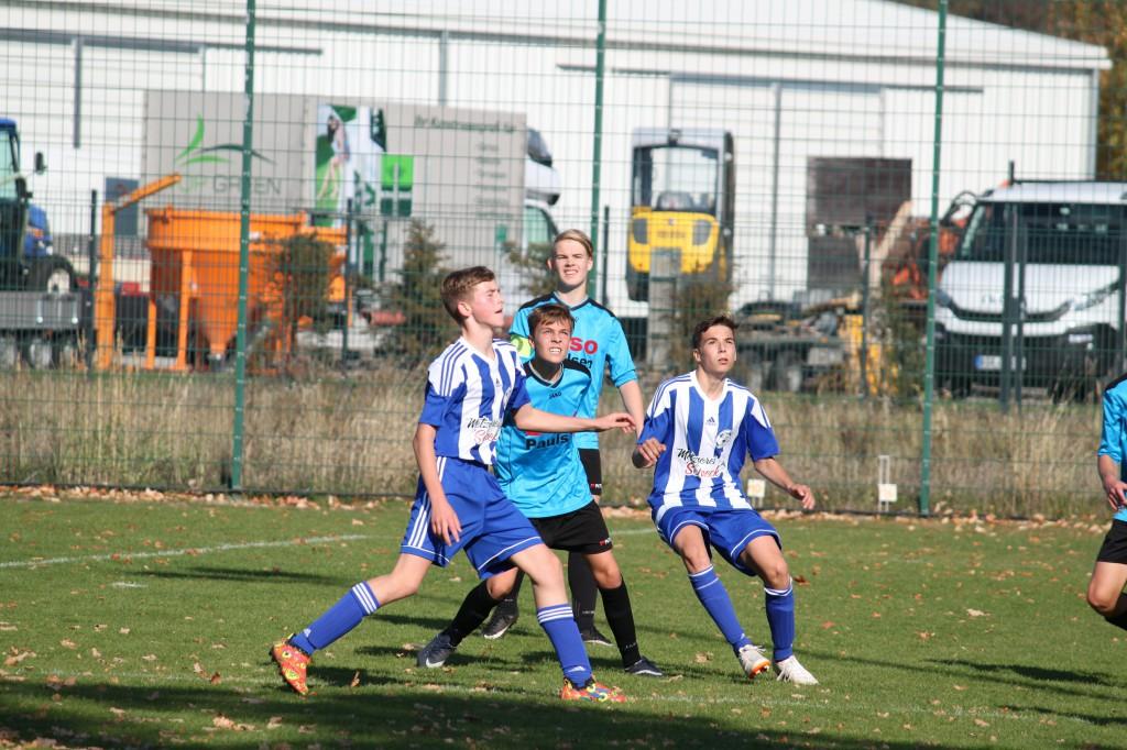 20181014 C1-Junioren Punktspiel gegen FSV Bernau 5-0 Erfolg (35)