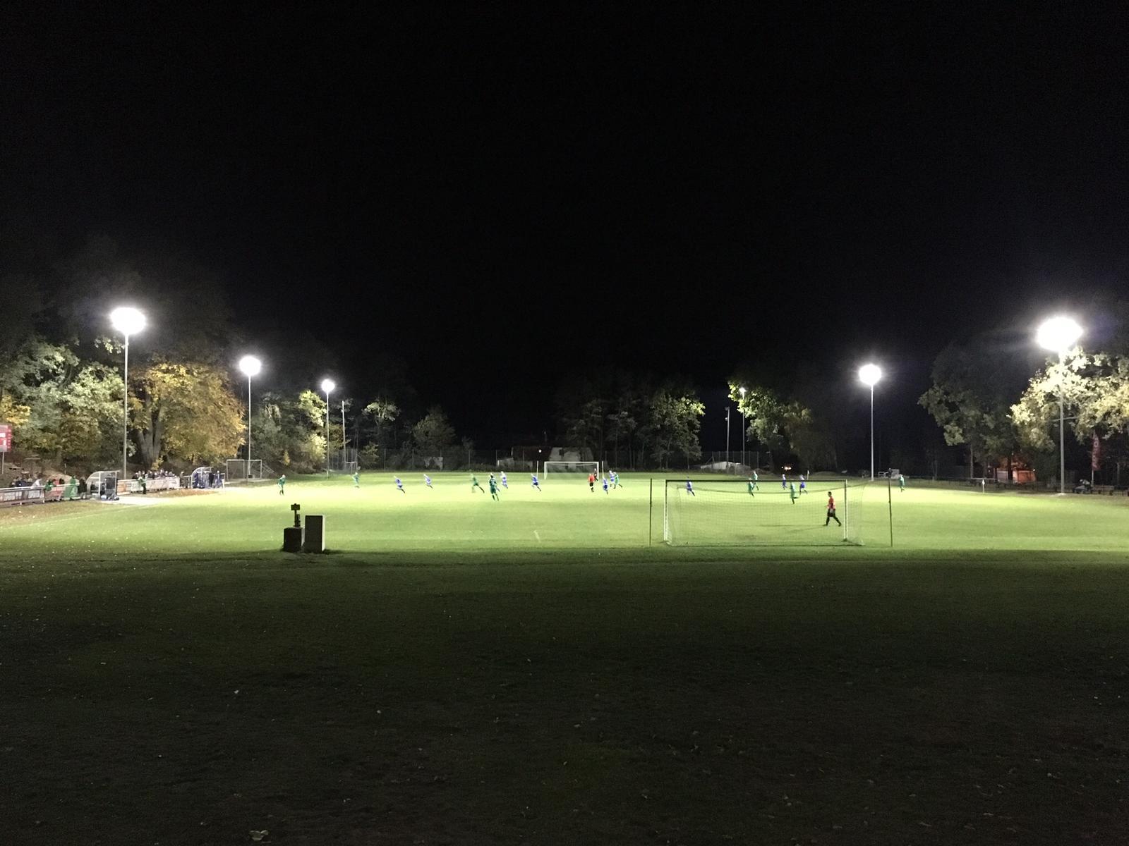 20181030 Einweihung neue Flutlichtanlage2