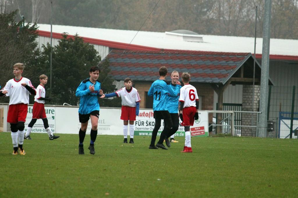20181124 C1-Junioren Punktspiel gegen Bruchmühle 9-0 Erfolg (70)
