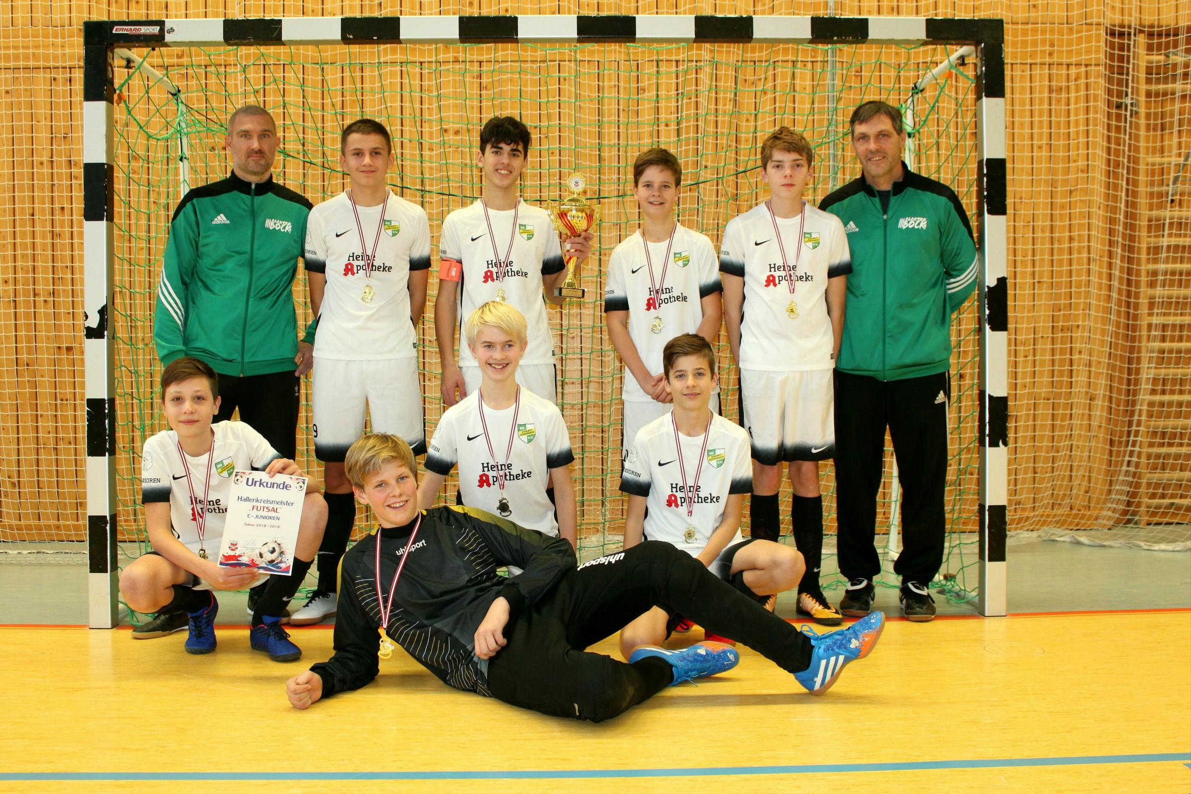 20181124 Hallenkreismeister C-Junioren 2018 SG Einheit Zepernick