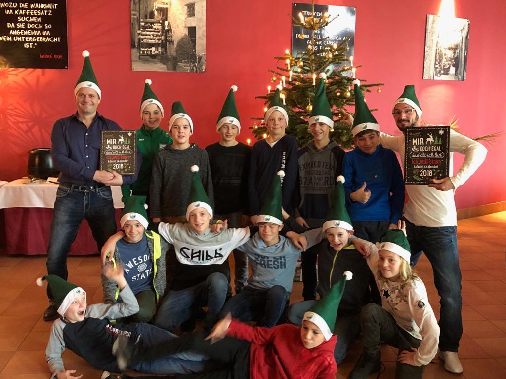 20181130 D1-Junioren Weihnachtsfeier