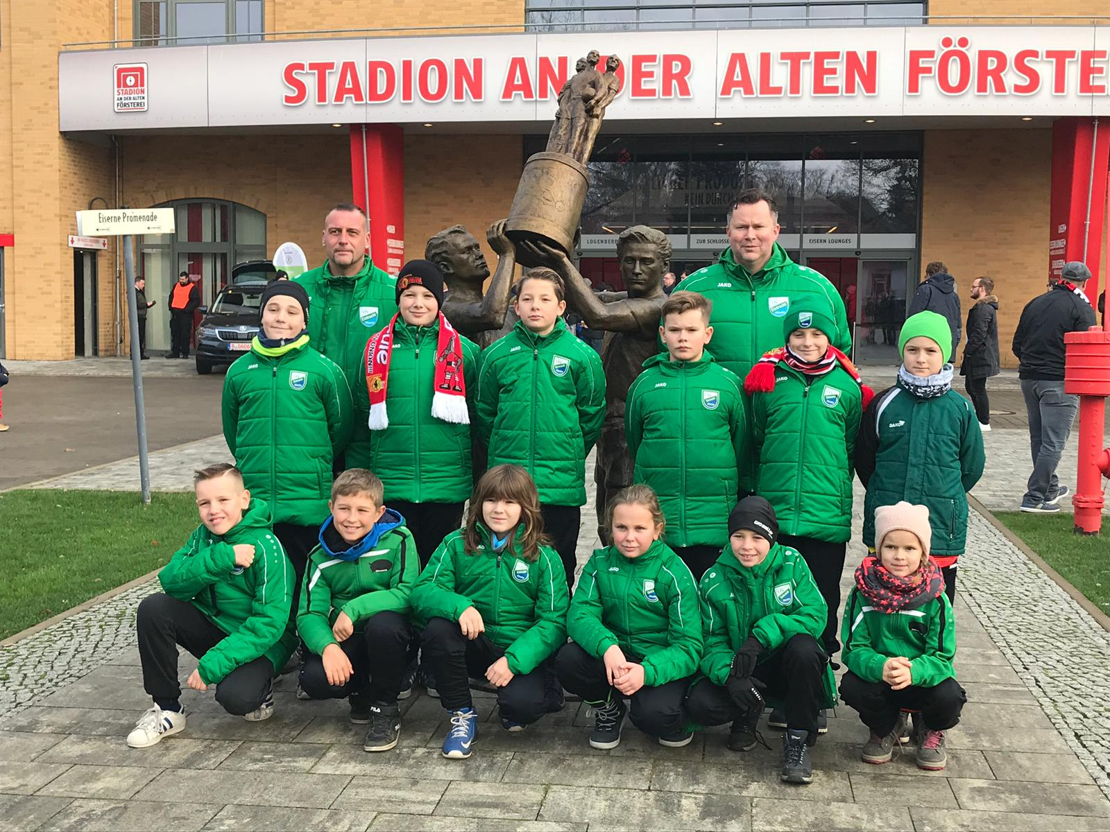 20181201 E1-Junioren Stadionkids beim 1. FC Union Berlin