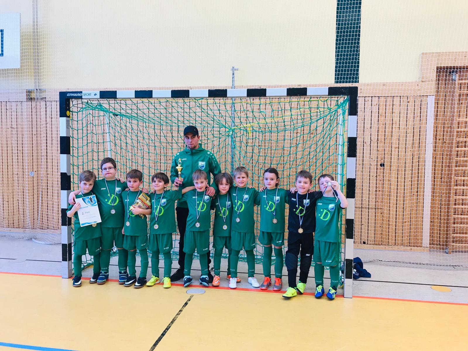 20190119 G-Junioren beim Hallenturnier in Basdorf (1)