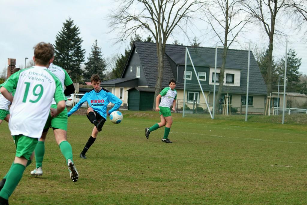 20190331 C1-Junioren Punktspiel gegen SC Oberhavel Velten 1-0 Erfolg (7)
