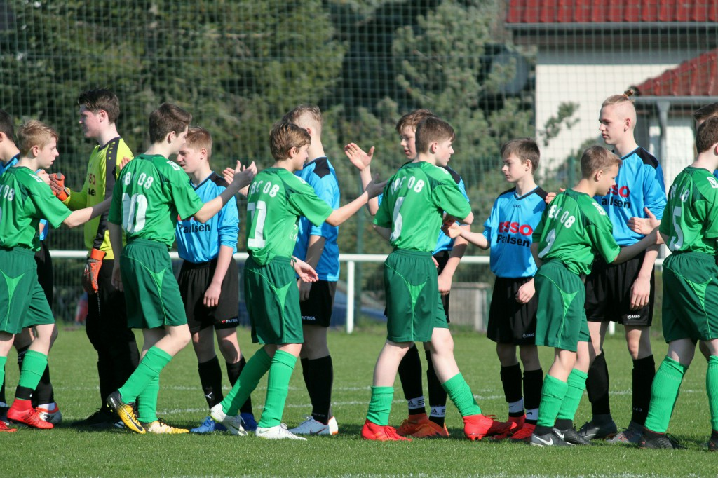 20190407 C1-Junioren Punktspiel gegen Birkenwerder 1-0 Erfolg (2)