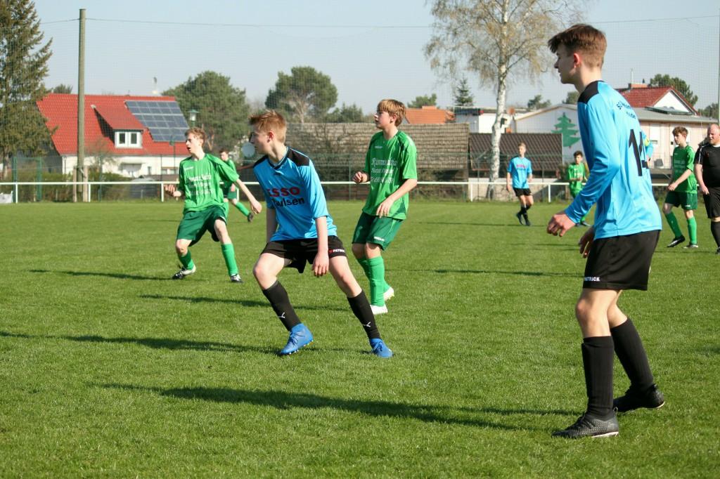 20190407 C1-Junioren Punktspiel gegen Birkenwerder 1-0 Erfolg (4)