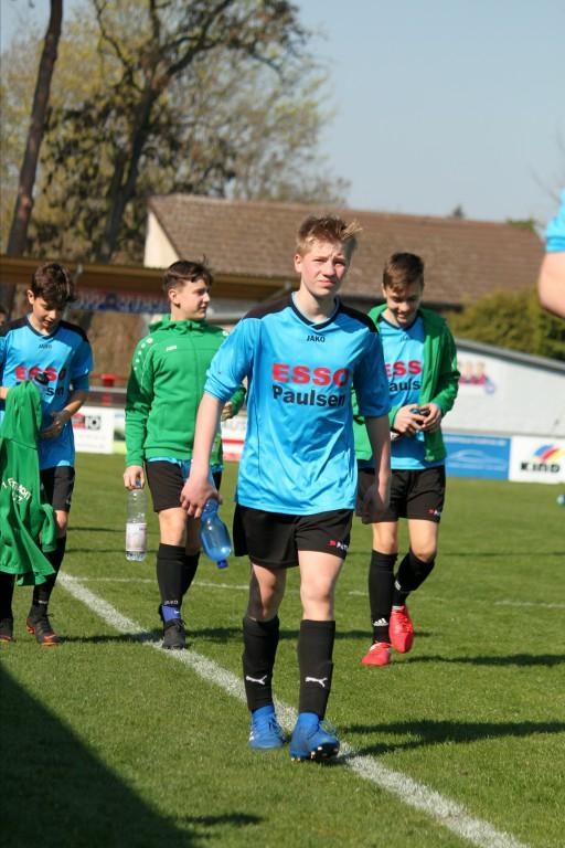 20190407 C1-Junioren Punktspiel gegen Birkenwerder 1-0 Erfolg (5)