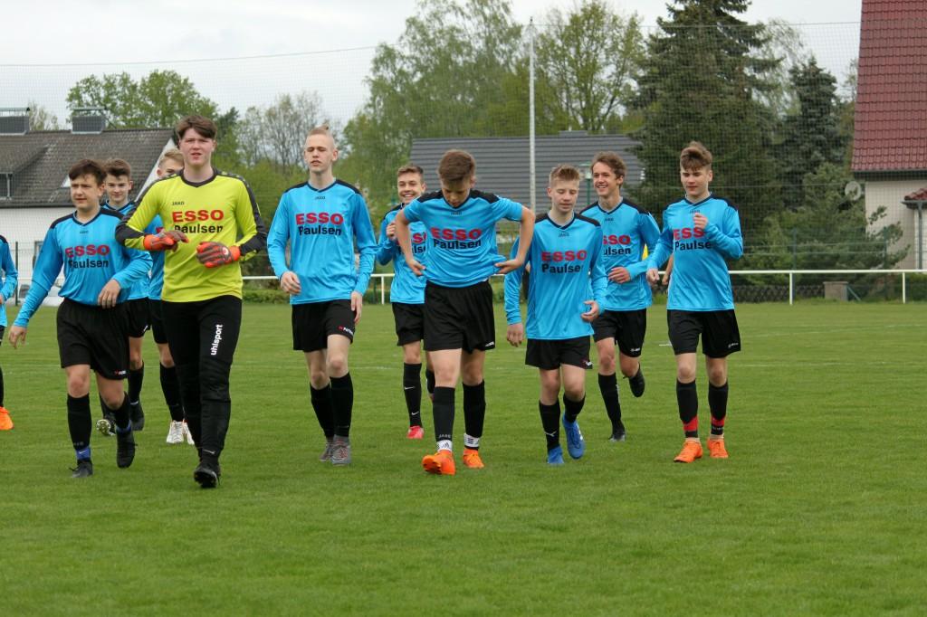 20190428 C1-Junioren Testspiel gegen MSV Neuruppin 2-1 Niederlage (2)