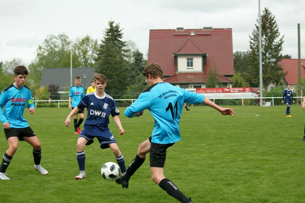 20190428 C1-Junioren Testspiel gegen MSV Neuruppin 2-1 Niederlage (4)