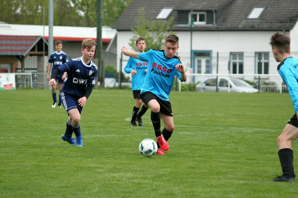 20190428 C1-Junioren Testspiel gegen MSV Neuruppin 2-1 Niederlage (7)