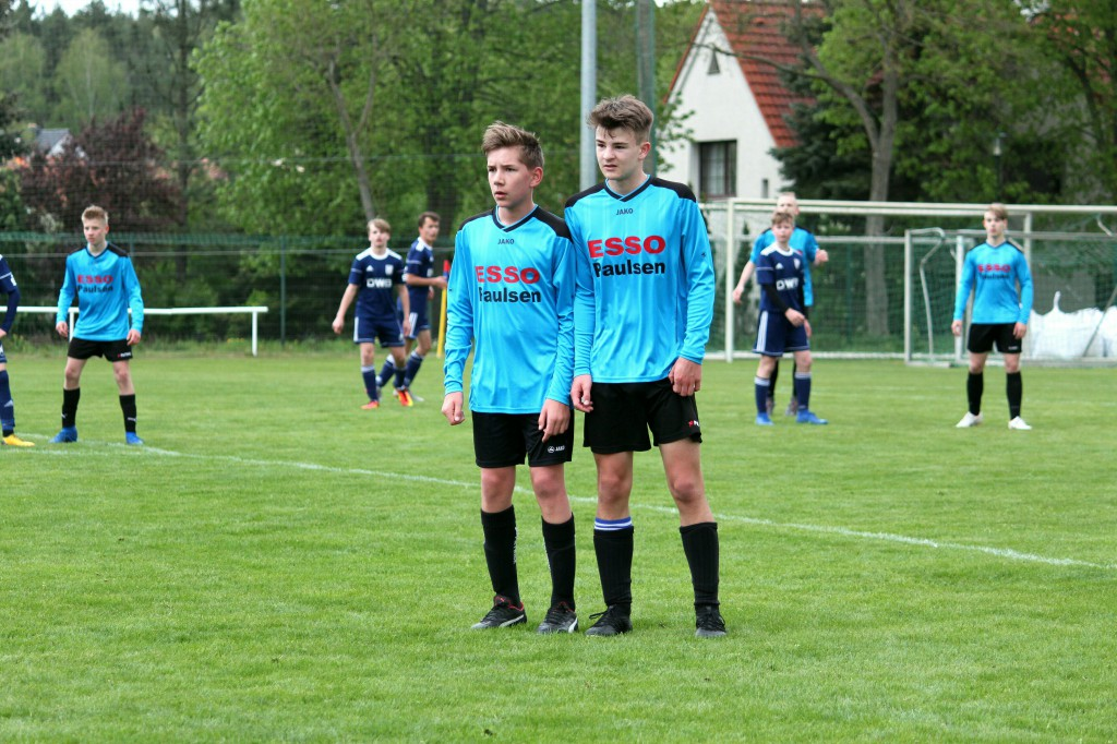 20190428 C1-Junioren Testspiel gegen MSV Neuruppin 2-1 Niederlage (8)