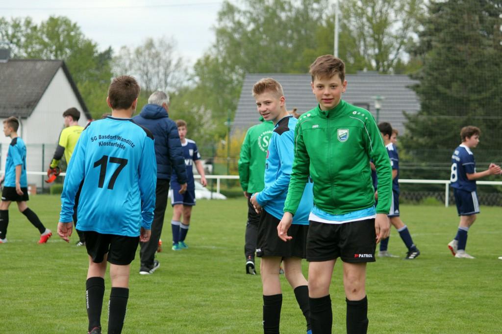 20190428 C1-Junioren Testspiel gegen MSV Neuruppin 2-1 Niederlage (9)