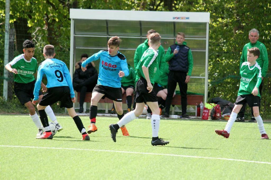 20190505 C1-Junioren Punktspiel gegen Preußen Eberswalde 4-1 Niederlage (7)